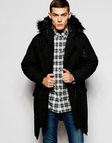 Penfield Shower Proof Paxton Insulated Parka - Black