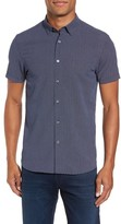 Ted Baker Men's Geo Polynosic Slim Fit Woven Shirt