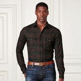 Ralph Lauren Purple Label Plaid Cotton Flannel Workshirt