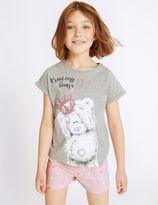 Marks and Spencer Printed Short Pyjamas (2-16 Years)