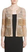 Naeem Khan Women's Sequin Fringe Jacket