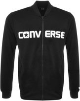 Converse Hybrid Bomber Sweatshirt Black