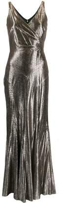 Lauren Ralph Lauren Aletheo metallic gown