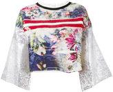 Aviu floral blouse - women - Silk/Cotton/Polyamide/Spandex/Elastane - 42