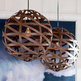 PBteen Austen Wood Veneer Pendant