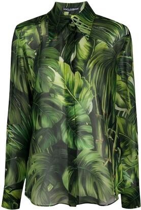 Dolce & Gabbana Jungle Print Shirt