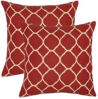 Austin Horn Classics Sunbrella Accord Crimson 18-inch Pillow