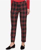 Tommy Hilfiger Plaid Straight-Leg Pants, Created for Macy's