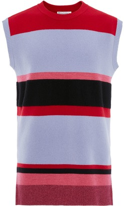 J.W.Anderson WIDE STRIPE SLEEVLESS JUMPER