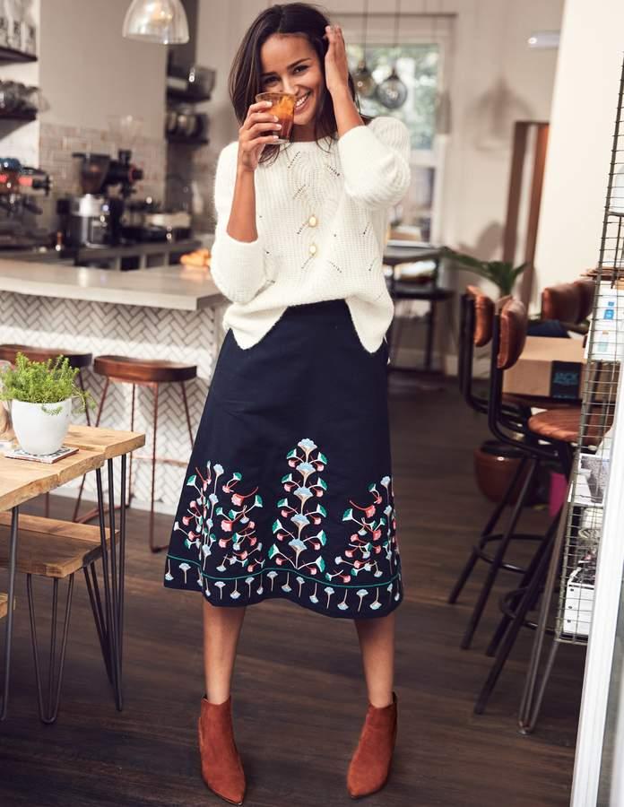 e98def7f5 Boden Blue Petite Skirts - ShopStyle