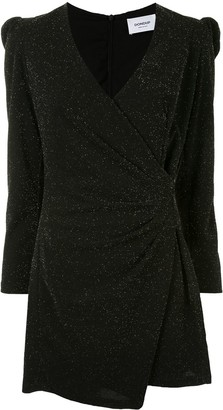 Dondup Glitter Detail Mini Dress