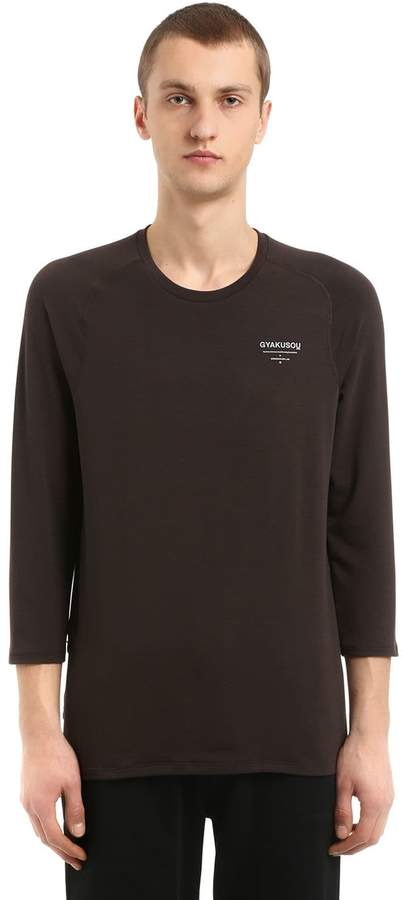Nike Gyakusou Undercover Lab Df Running 3/4 Sleeve T-Shirt