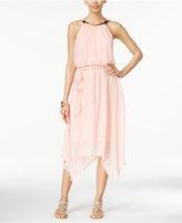 Thalia Sodi Chiffon Handkerchief-Hem Dress, Only at Macy's