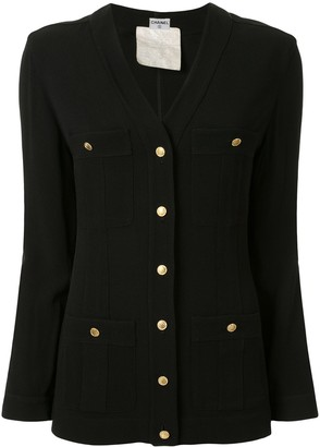 Chanel Pre Owned Buttoned Cardigan Top