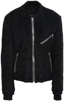 RtA Faux Fur Bomber Jacket