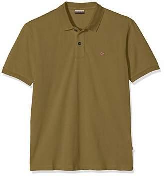 Napapijri Men's Elios Polo Shirt, New Olive Green Gd6