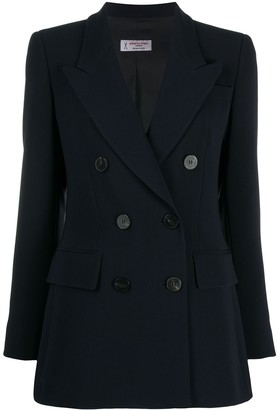 Alberto Biani Double-Breasted Fitted Blazer