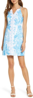 Lilly Pulitzer Pearl Toile Sheath Dress