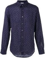 Boglioli polka dot shirt - men - Linen/Flax - 39