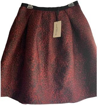 Burberry Red Skirt for Women