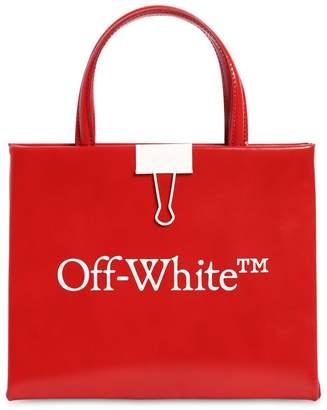 Off-White Off White MINI BOX LEATHER TOP HANDLE BAG