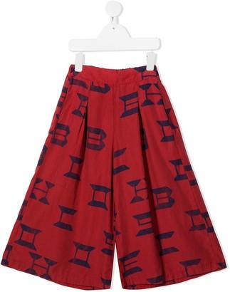 Bobo Choses Logo-Print Wide Leg Trousers
