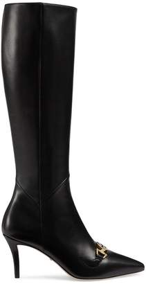 Gucci Tall Leather Boots