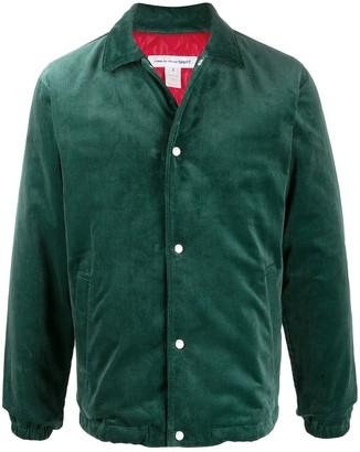 Comme des Garcons drawstring shirt jacket