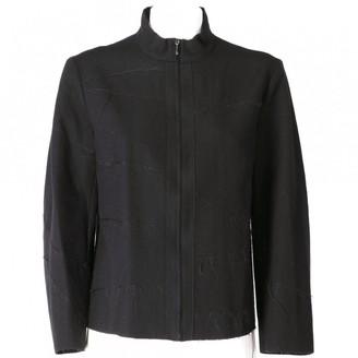 Philosophy di Alberta Ferretti Black Wool Jackets