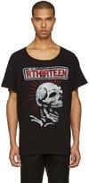 R 13 Black Skull Lukas T-shirt