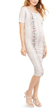 Isabella Oliver Maternity Ruched Dress