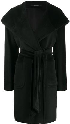 Tagliatore Tie-Fastening Oversized Coat