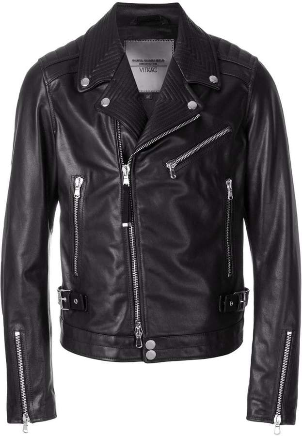 Diesel Black Gold fitted biker jacket