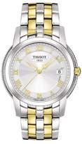 Tissot Men's Ballade III Two-Tone Bracelet Watch, 39.5mm