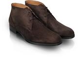 Moreschi Stiria - Dark Brown Suede Ankle Boots