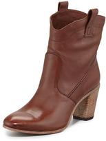 Alberto Fermani Mid-Shaft Western Boot, Brown