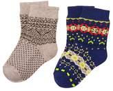 Crazy 8 Fair Isle Socks 2-Pack
