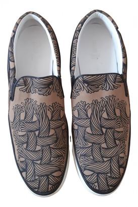 Louis Vuitton Camel Cloth Trainers