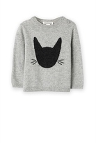 Country Road Cat Intarsia Knit