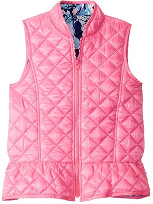 Lilly Pulitzer Melanie Reversible Vest (Toddler/Little Kids/Big Kids) (Prosecco Pink) Girl's Clothing