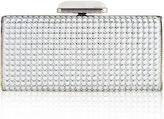 Judith Leiber Couture Soft-Sided Rectangle Clutch with Enamel Dots