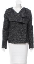 Jil Sander Wool-Blend Oversize Coat