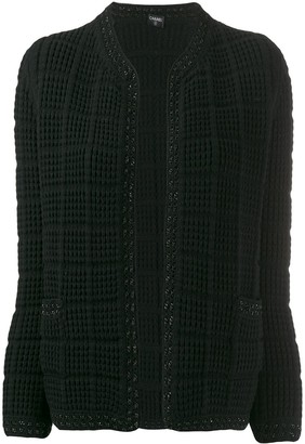 Chanel Pre Owned 2010 Knitted Jacket