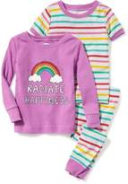 "Old Navy ""Radiate Happiness"" 3-Piece Sleep Set for Toddler & Baby"