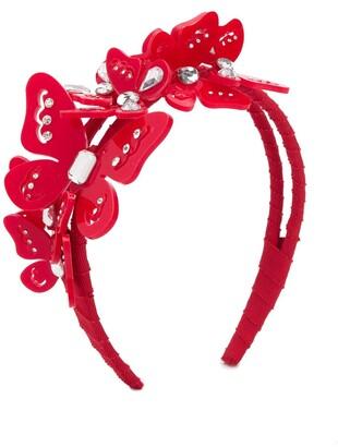 MonnaLisa Butterfly Embellished Hairband