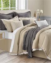 Sunham Stafford 10-Pc. King Comforter Set, Cotton/Linen