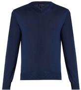 Lanvin V-neck cashmere sweater