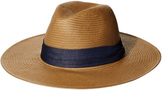 Ale By Alessandra Women's Havana Panama Sunhat Packable Adjustable & UPF Rated