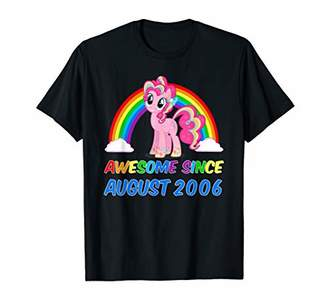 Awesome since August 2006 T-Shirt Unicorn 13th Birthday