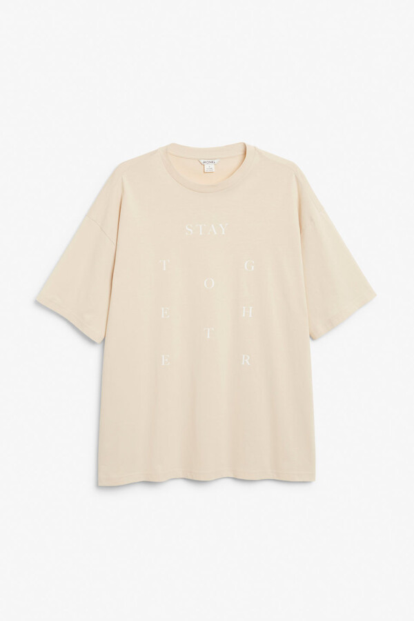 Thumbnail for your product : Monki Oversized tee